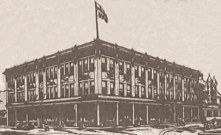 Proposed Midland Arcade Building.