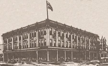 Proposed Midland Arcade Building.