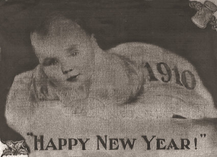 Wishing You and Yours a Happy and Prosperous 1910.