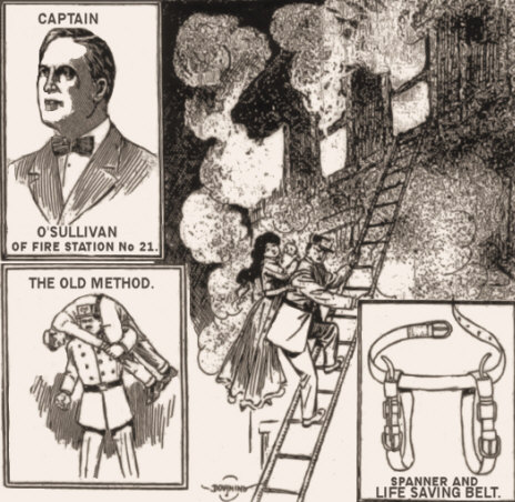 Invention of Kansas City Fire Captain James O'Sullivan.