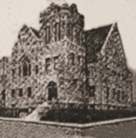 The First Methodist Church in Rosedale as it Is Now.