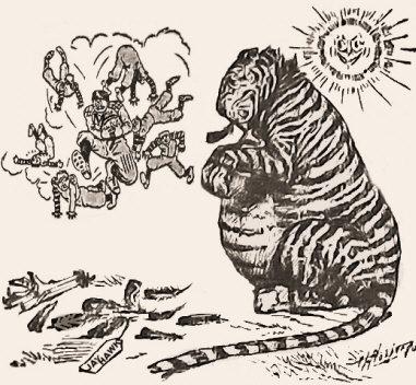 Missouri Tigers Wallop the Kansas Jayhawks.