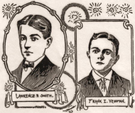 Frank Vrooman and Lawrence P. Smith, Boy Singers